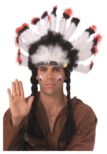 Feather American Indian Headdress