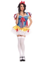 Sexy Ladies Lacy Snow White Costume