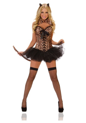 Ladies Leopard Costume