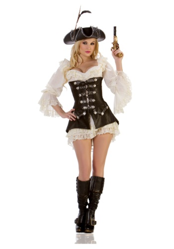 Sexy Ladies Rouge Pirate Costume