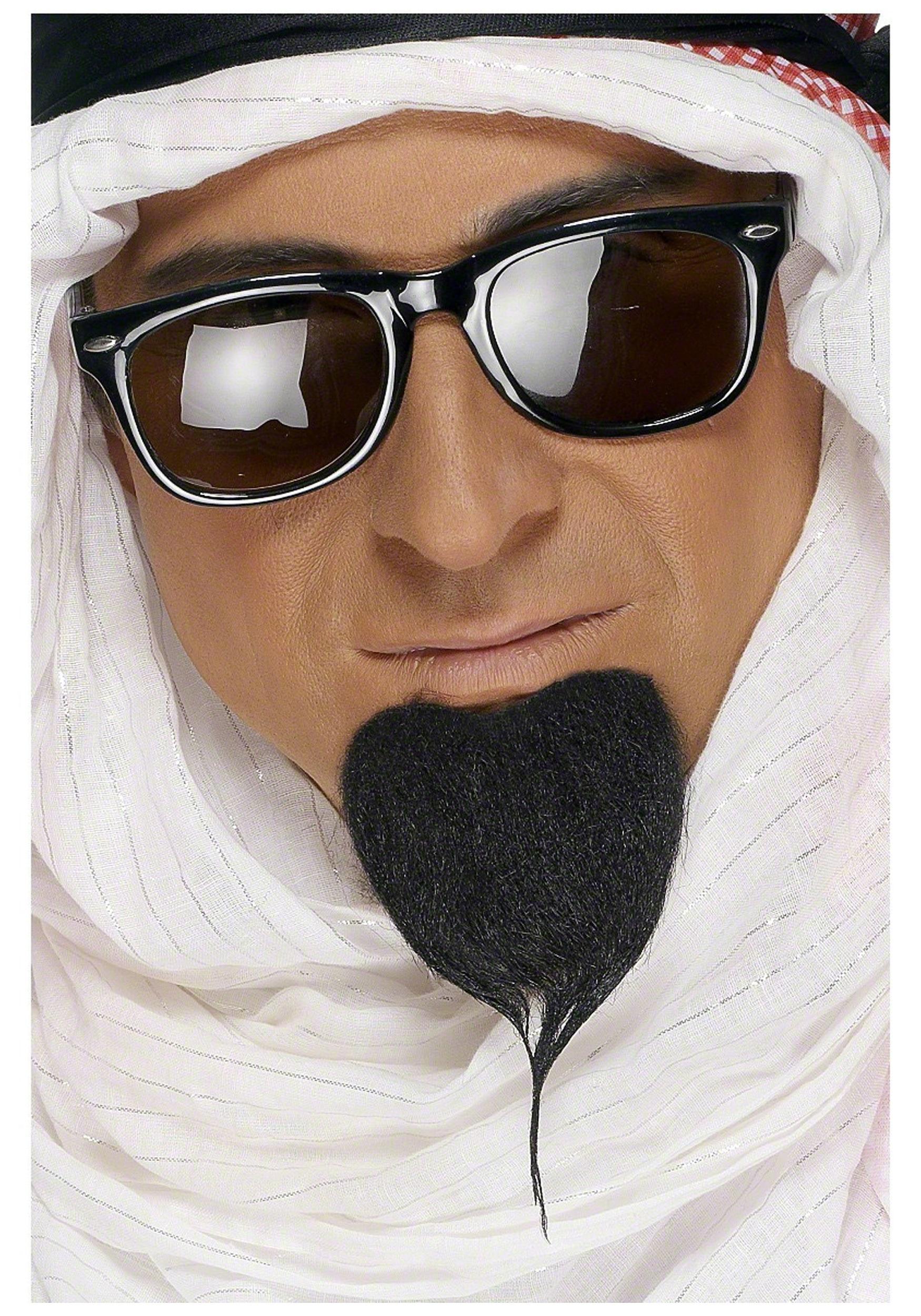 arabian genie facial hair - funny costume ideas