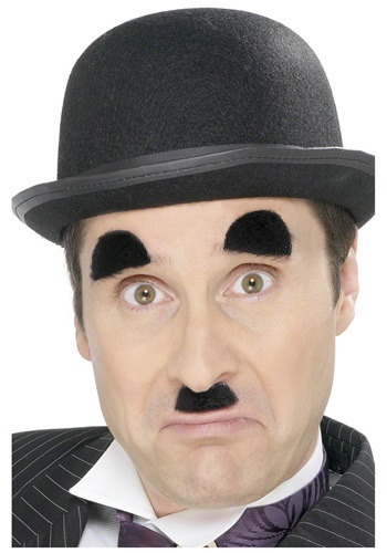 English Comedian Chaplin Mustache and Eyebrows
