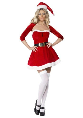 Sexy Santa Mistress Costume