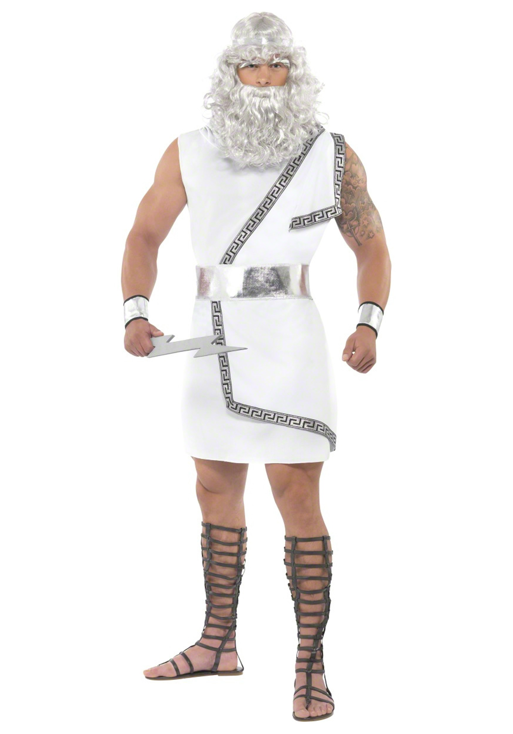 zeus olympic god costume - historical costume ideas for men