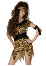 Animal Print Cavewoman Costume
