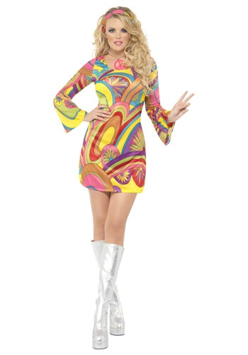 70s Sexy Flower Power Costume