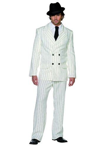 White 20s Gangster Costume