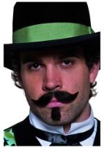 Western Moustache and Beard Set