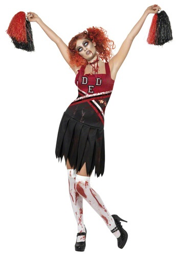 Zombie Cheer Girl Costume