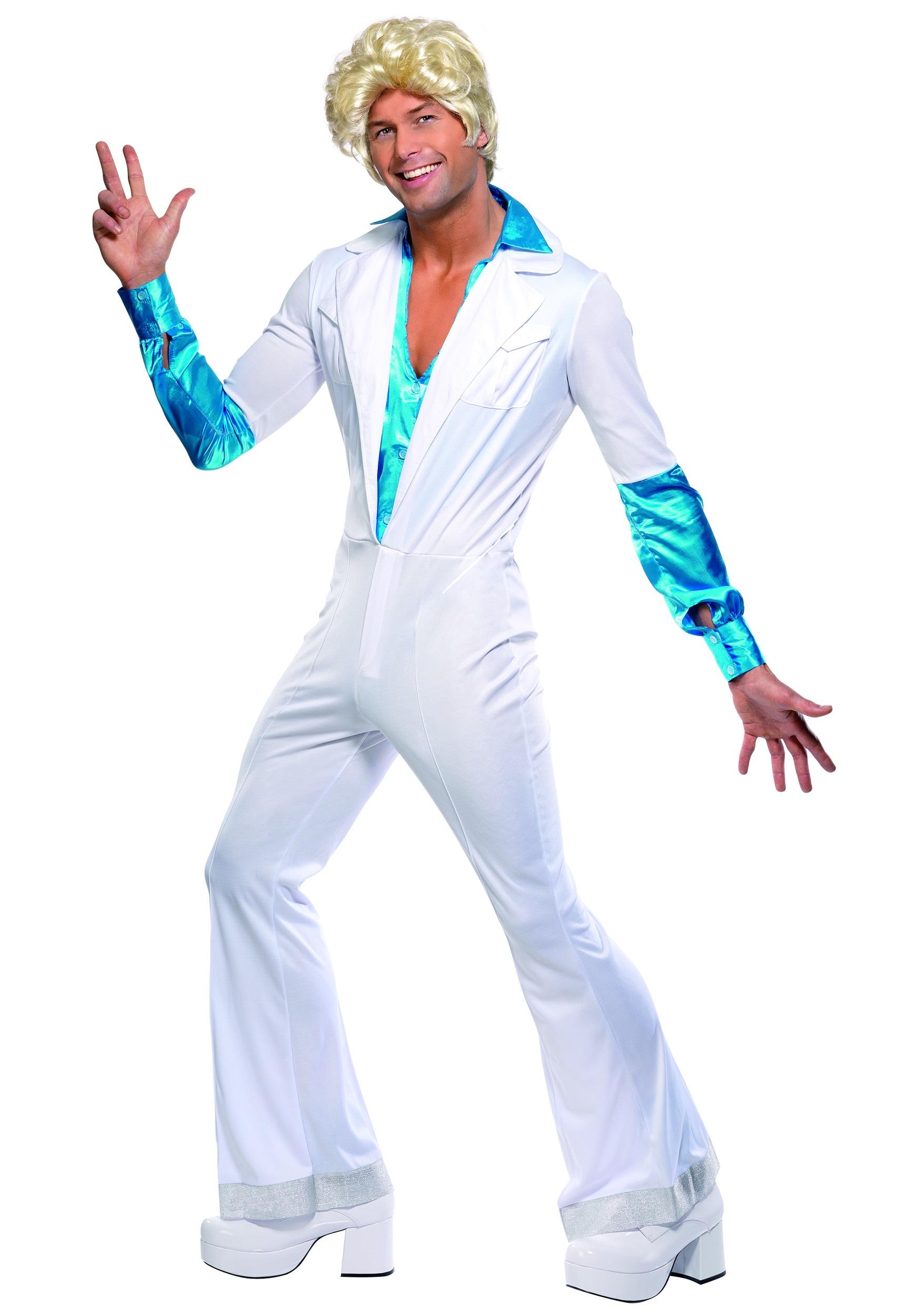 Disco Man 70s Costume  sc 1 st  Halloween Costume & Disco Man 70s Costume - 1970s Retro Funky Disco Halloween Costumes