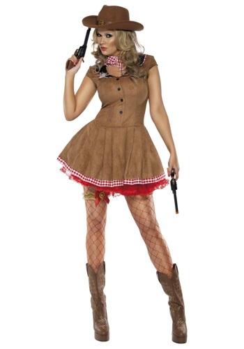 Sexy Western Cowgirl Costume
