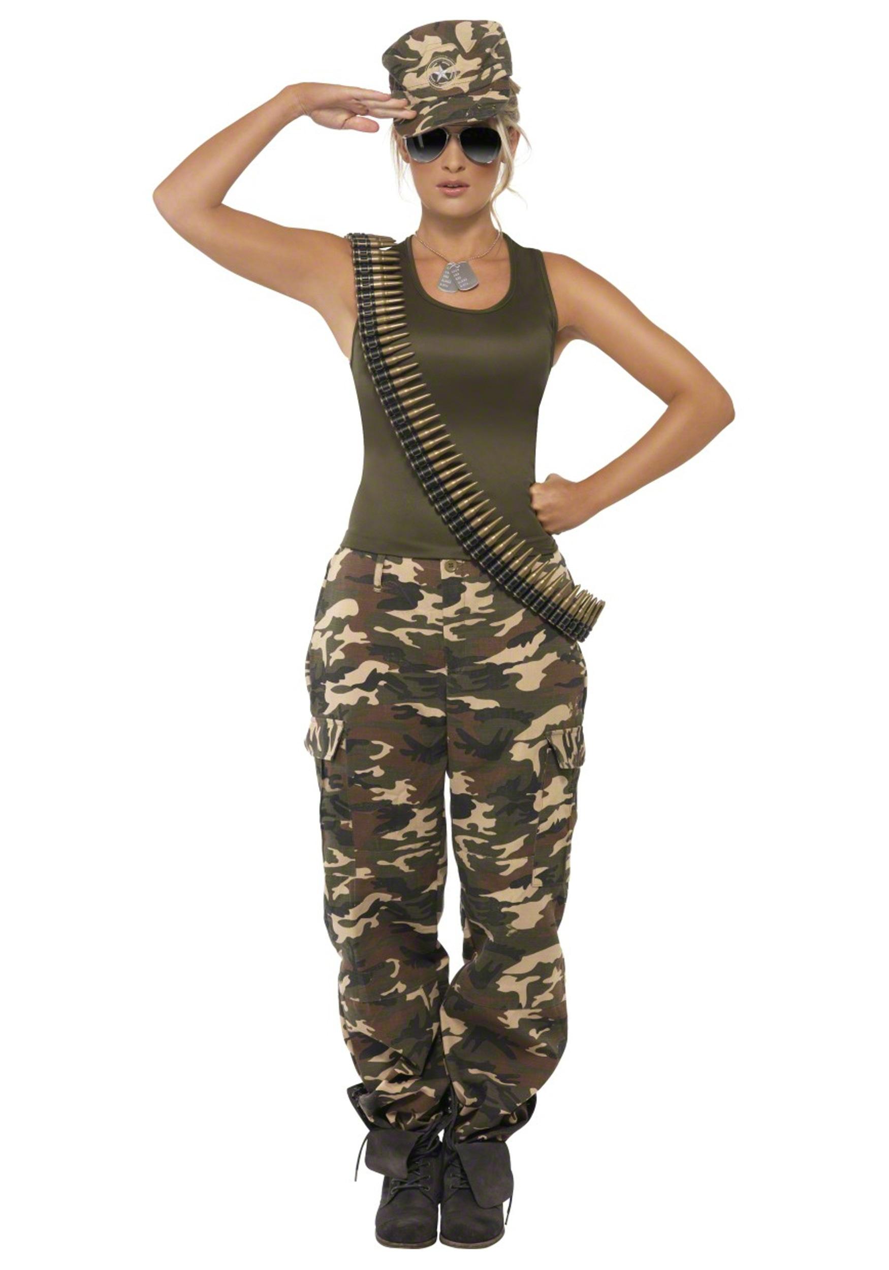 Womens Camouflage Clothing Active Wear - InfoBarrel