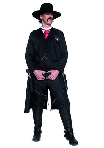Western Sheriff Mens Costume