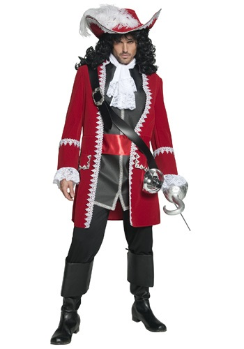 Mens Supreme Pirate Captain Costume