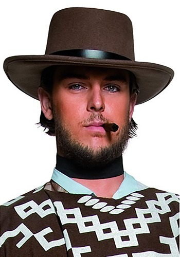 Western Gunman Brown Cowboy Hat