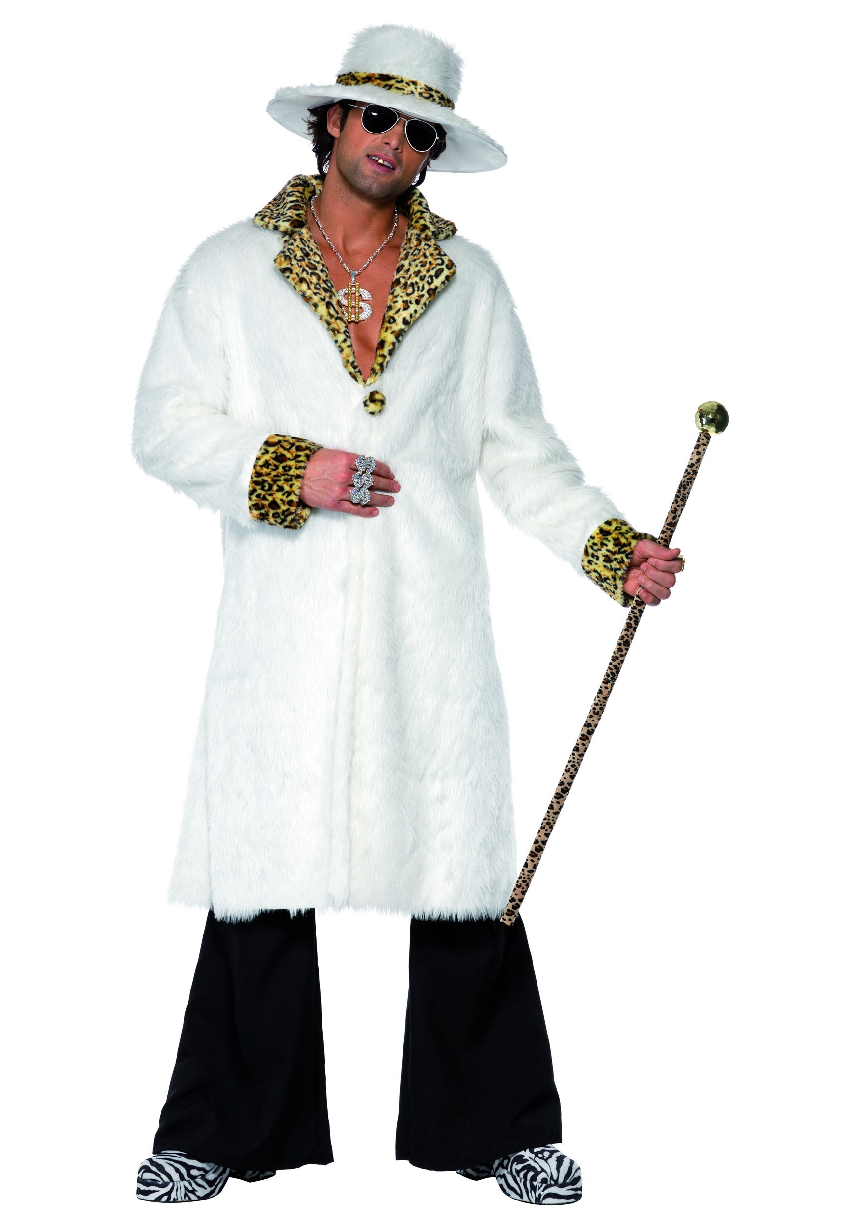 Mens Hustla Pimp Costume  sc 1 st  Halloween Costume & Mens Hustla Pimp Costume - Mens Pimp Halloween Costume