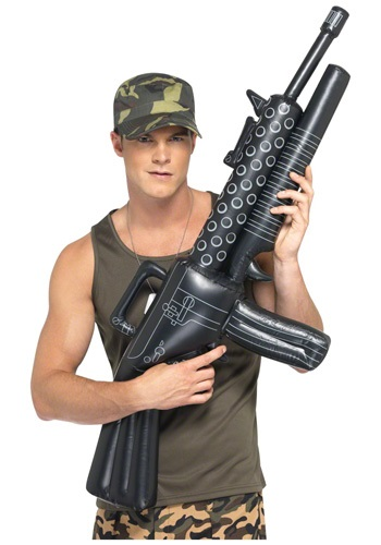 Inflatable Gangster Gun