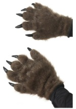 Hairy Wolf Man Hands
