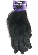Hairy Gorilla Gloves