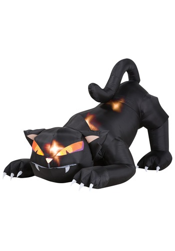 Blow Up Cat w/ Moving Head
