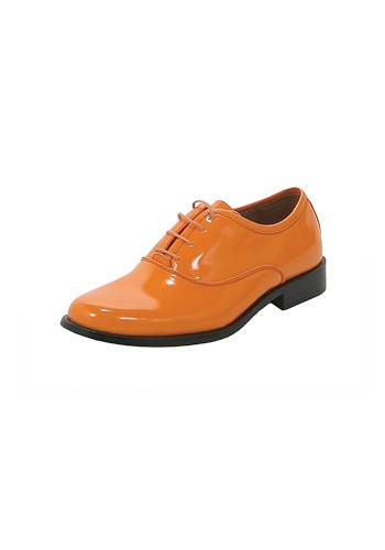 Orange Tux Shoes