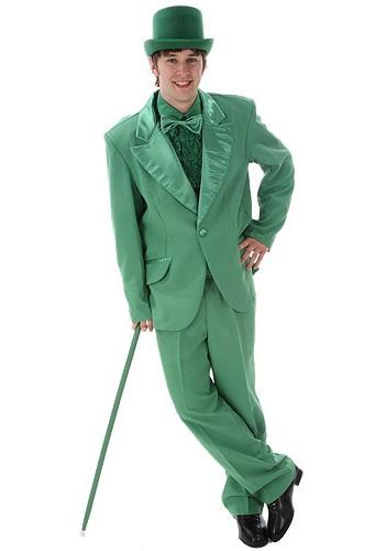 Kelly Green Tuxedo Costume