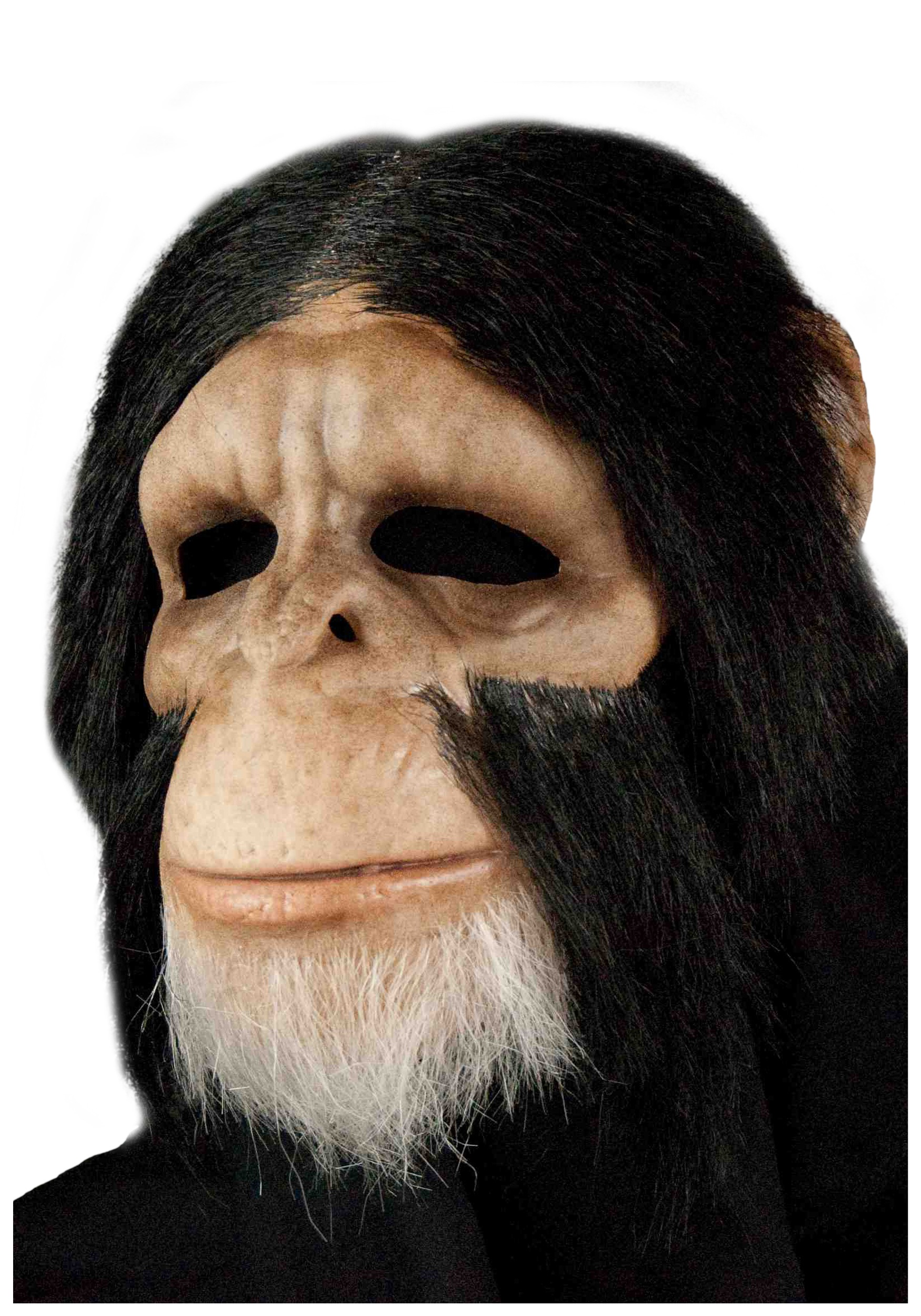 Scary Chimp Mask - Adult Discount Halloween Monkey Masks