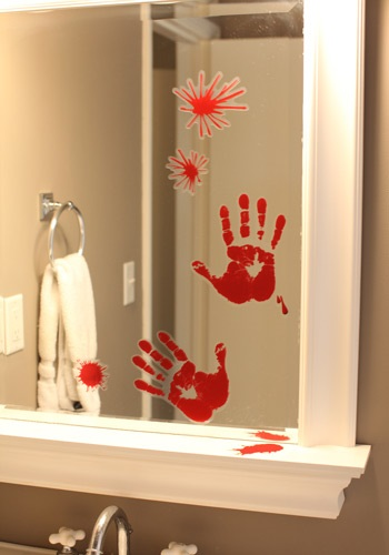 Bloody Horror Handprint