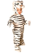 Little White Striped Tiger Costume
