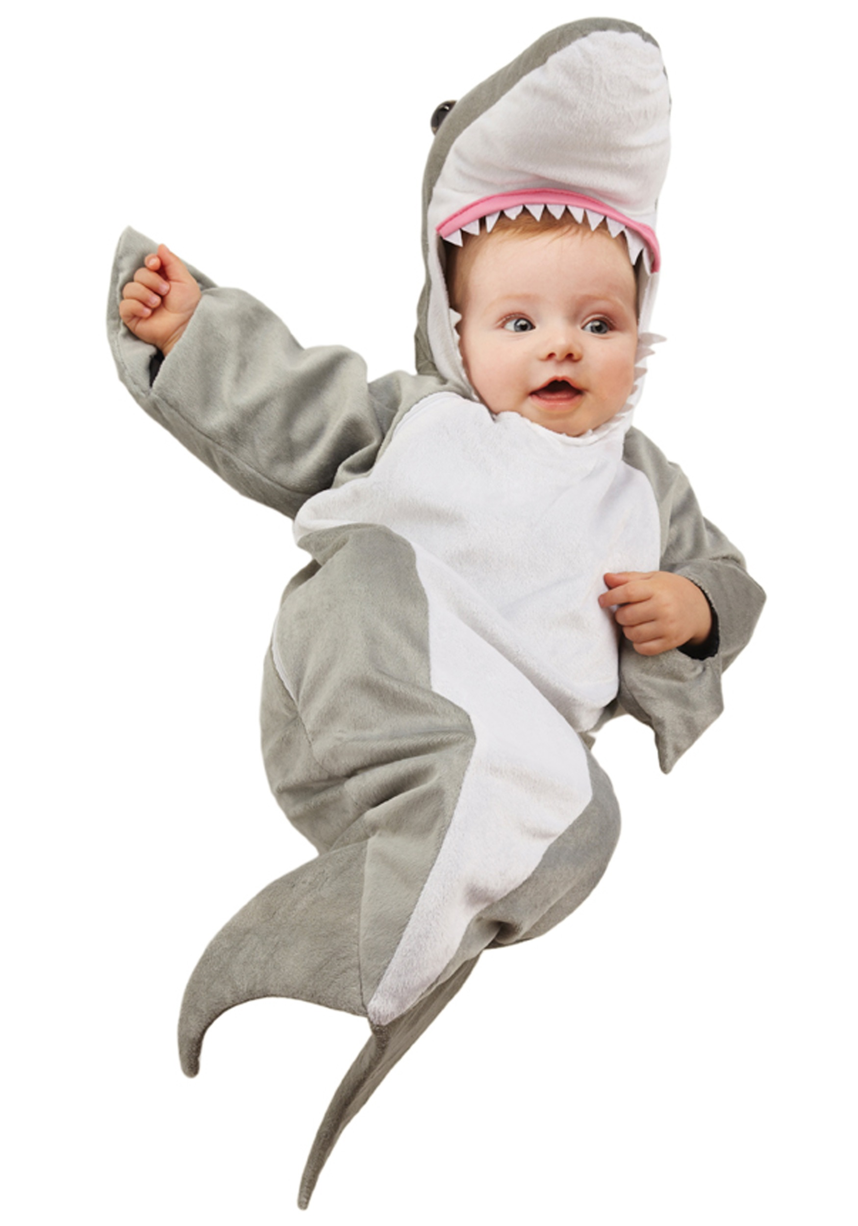 Infant shark onesie child sea animal costume ideas - Costume halloween bebe ...