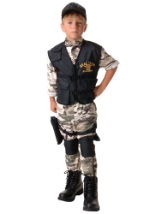 Boys Military SEAL Team Costume