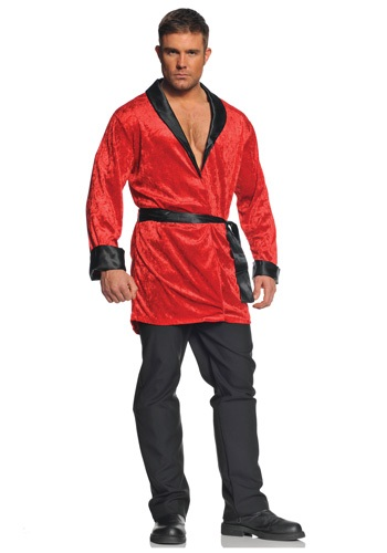 Classy Red Smoking Jacket