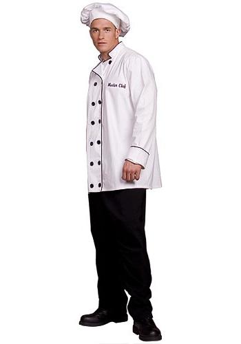 Mens Master Chef Costume