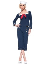 Womens Sassy Ship Mate Costume
