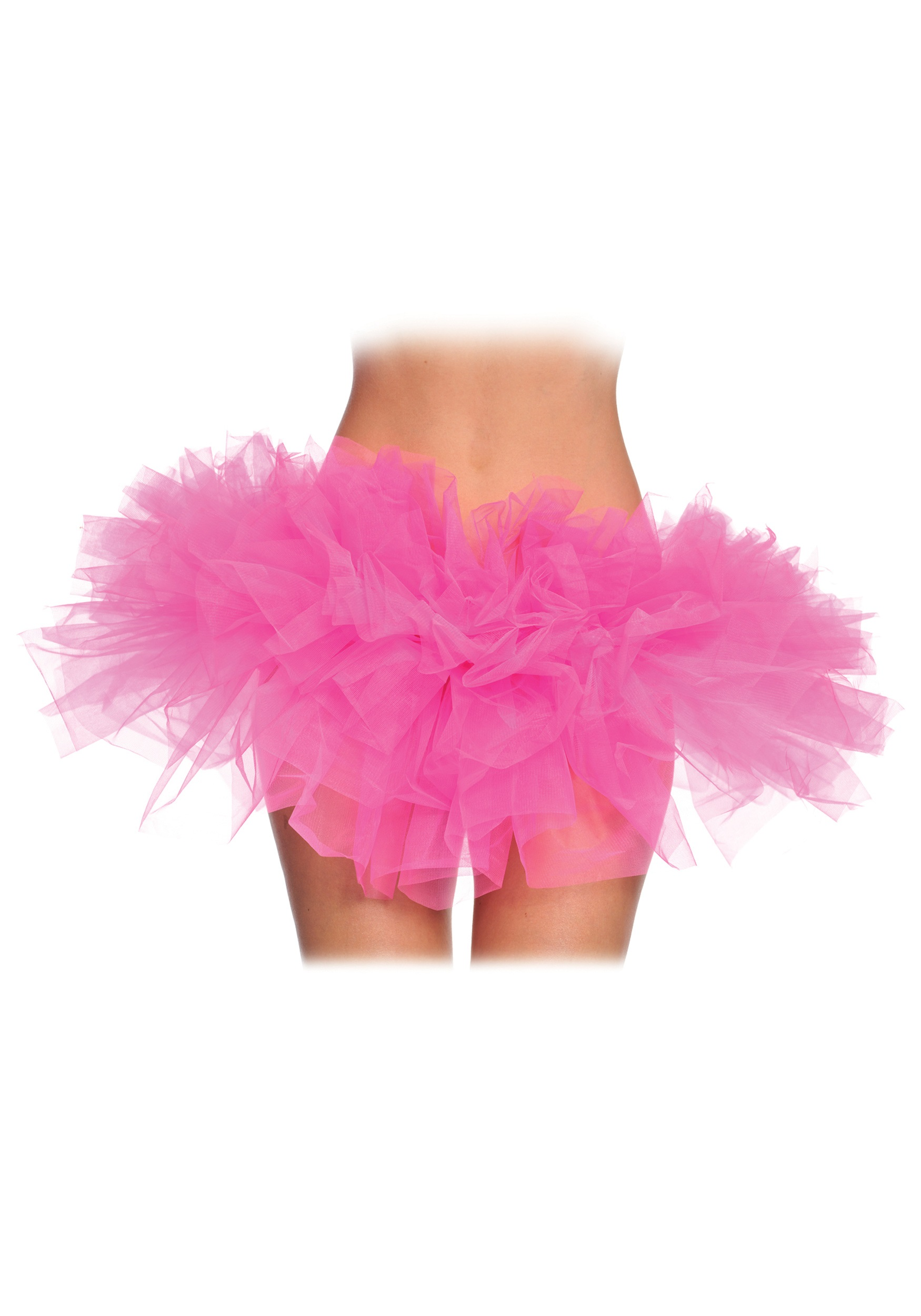 Womens Pretty Pink Ballet Tutu - Adult Fairy Costume ...