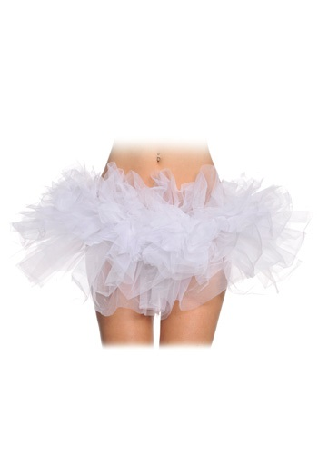 Womens Fancy White Tutu