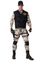 Realistic Adult SEAL Team Costume