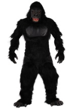 Realistic Ferocious Gorilla Costume