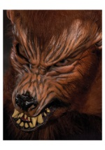 Howl O Ween Growling Wolf Mask