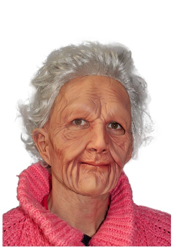 Creepy Old Woman Mask