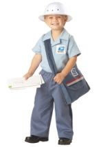 Toddler Little Mailman Costume