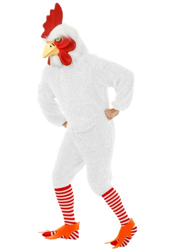 White Farm Rooster Costume