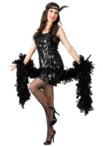 Retro Tear Drop Flapper Costume