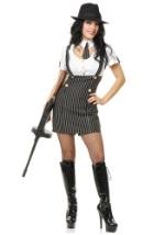 Retro Gangsta Girl Costume