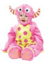 Infant/Toddler Pink Mini Monster Jumpsuit
