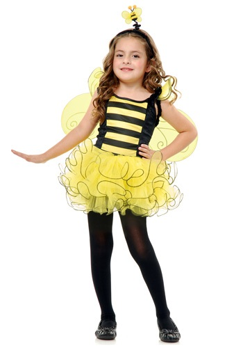 Girls Sweet Honey Bee Costume
