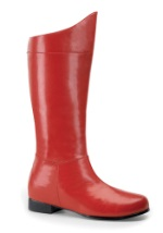 Kids Red Superhero Boots