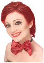 Rocky Horror Red Columbia Wig