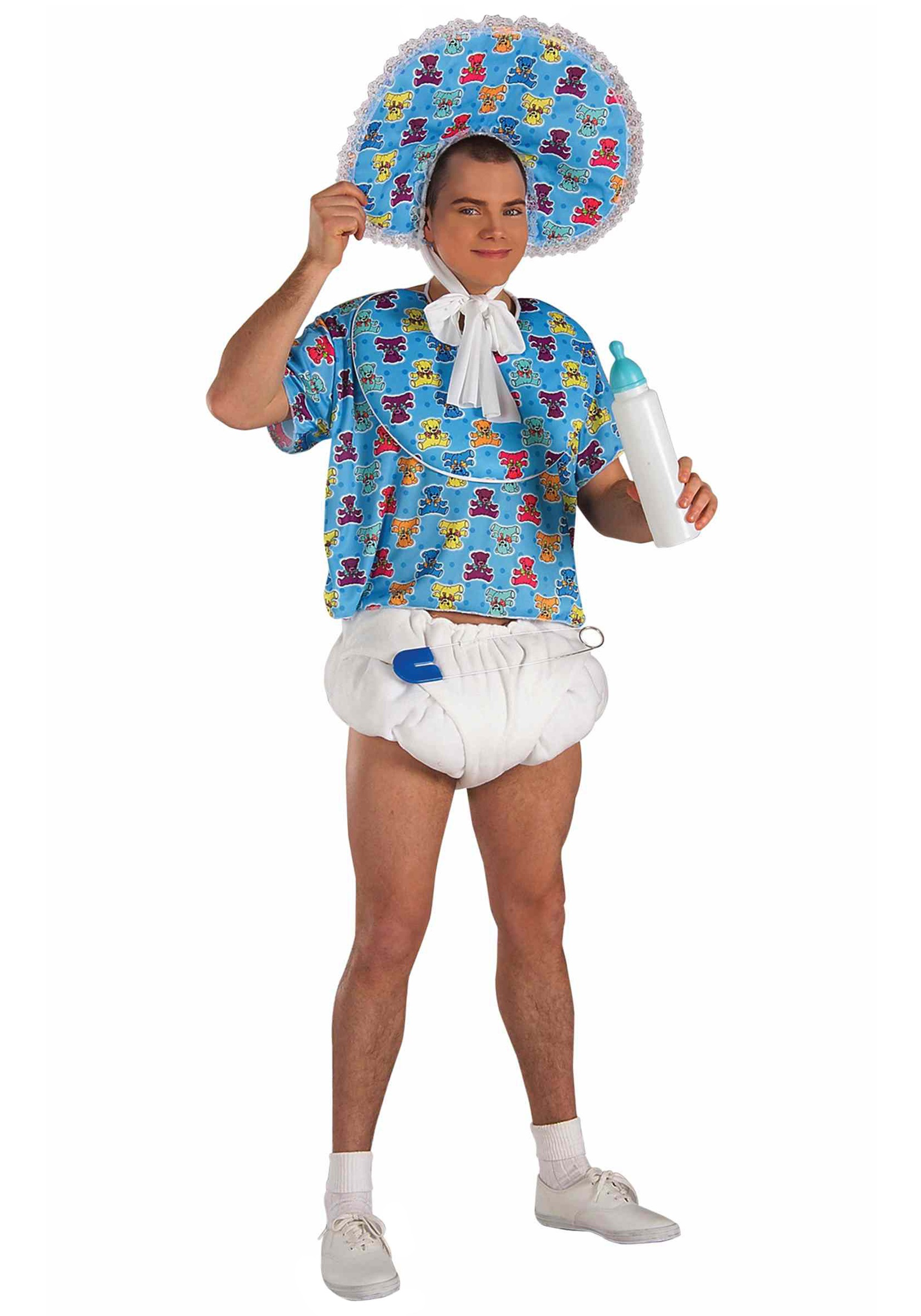 Adult Baby Boomer Costume - Adult Baby Costumes