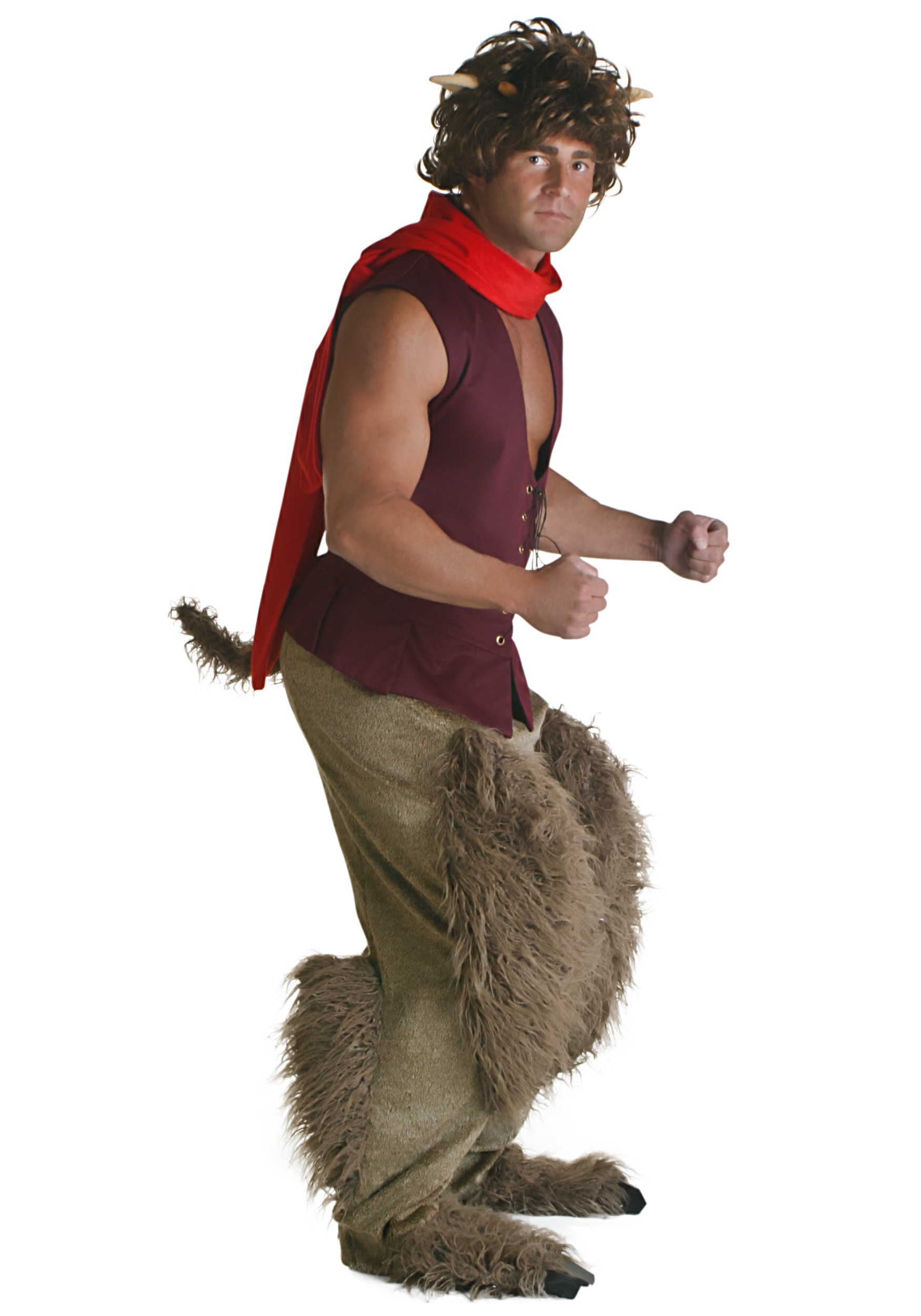 Adult Greek Satyr Costume - Greek and Roman Mythology Costumes